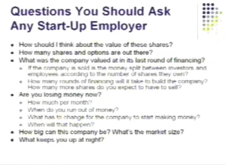 Questions You Should Ask Any Start-Up Employer